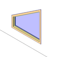 Trapezoid Window - Variable Head Pitch
