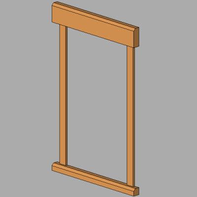 Building rfa trim for 20 40 window