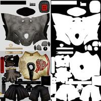 Samurai Rhino Textures