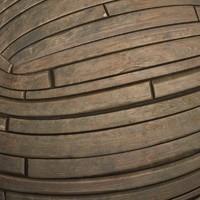 Wood plates #03 Texture