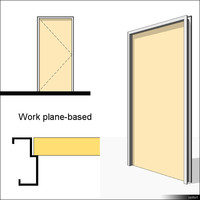 Door Swing Single Metal 00207se
