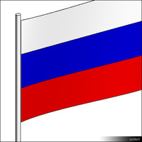 Flag-Russia-Pole-00305se