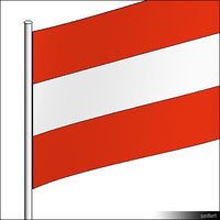Flag-Austria-Pole-00313se