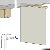 Projection Screen Ceiling 00357se