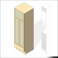 Kitchen Cabinet 00412se