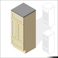 Kitchen Sideboard 00414se