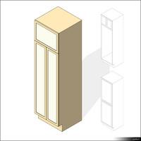 Kitchen Cabinet 00415se