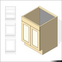Kitchen Floor Unit 00424se
