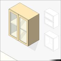 Kitchen Unit Wall Mount 00438se