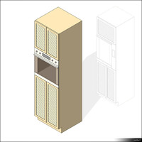 Kitchen Cabinet Oven 00446se