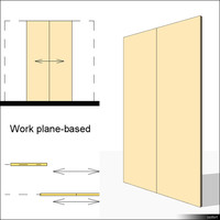 Door Sliding Double 00626se