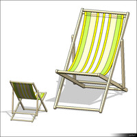 Seating Deck Chair 00860se