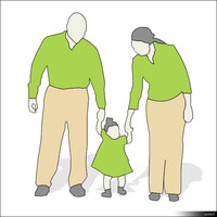Character Little Family 00880se