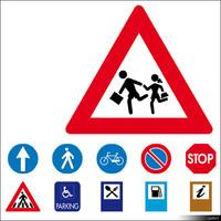 2D Symbol Traffic Signs 00923se
