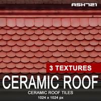 Ceramic roof tiles 2