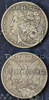 Morgan Silver Dollar Texure
