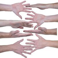 Human Hand Texture High Rez