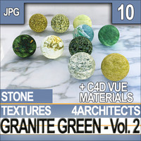 Granite Green Vol. 2 - Textures & Materials