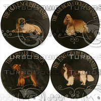 4 Dog Plaques