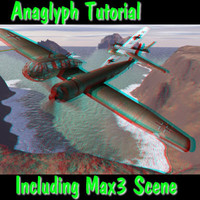 Anaglyph Tutorial Including Max3 Scene