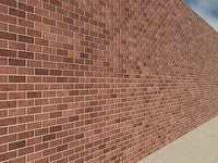 Brick High Quality Red 1_01 - PROCEDURAL 3ds max2010 Mental Ray Material