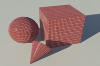 Brick - Soldier red 2 mental ray PROCEDURAL material - mr shader
