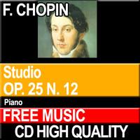 F. CHOPIN - Studio Op. 25 N. 12