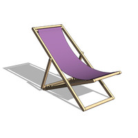 Classic deck chair