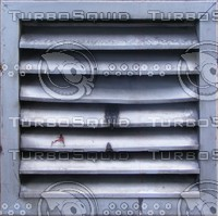 Aluminum dented exterior vent
