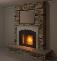 Ornamental Fire Place