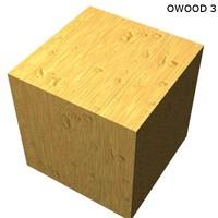 Wood - Orange Wood 3