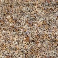 Tileable HQ pebbles texture maps