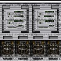 Shiny computer panel 6