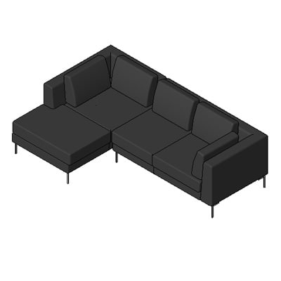 Building rfa albert sectional sofa for Sectional sofa revit