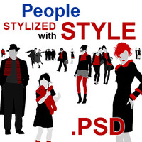 people stylized with style.psd