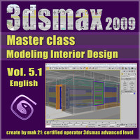 Video Master Class 3dsmax 2009 Vol.5.1 english