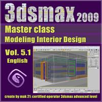 Video Master Class 3dsmax 2009 Vol.5.1 english