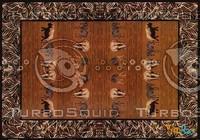 Rectangular carpet 073