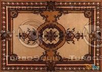 Rectangular carpet 076