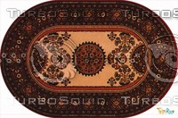 Oval carpet 082