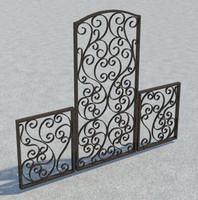 Tuscany Garden Gate