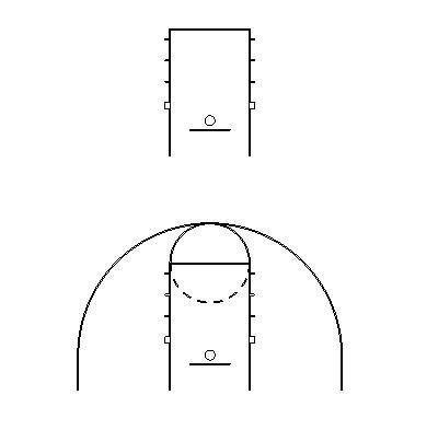 Basketball Half Court Gx_gym layout basketball half-