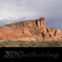 Redrock Mountains 001