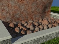 Rock_Rusty_1 - PROCEDURAL rock or stone material - 3ds max2010 Mental Ray shader