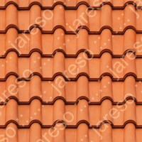Tileable roof 512x512 texture map - roof004.jpg