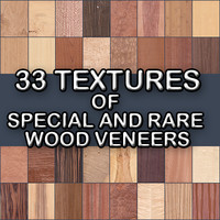 Special and Rare Veneer Textures