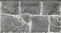 Gray stone border texture
