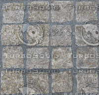 Square stone path texture