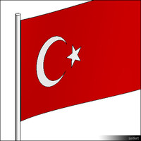 Flag-Turkey-Pole-00307se