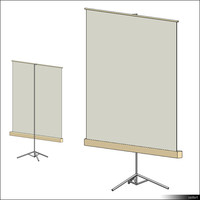 Projection Screen Floor 00355se